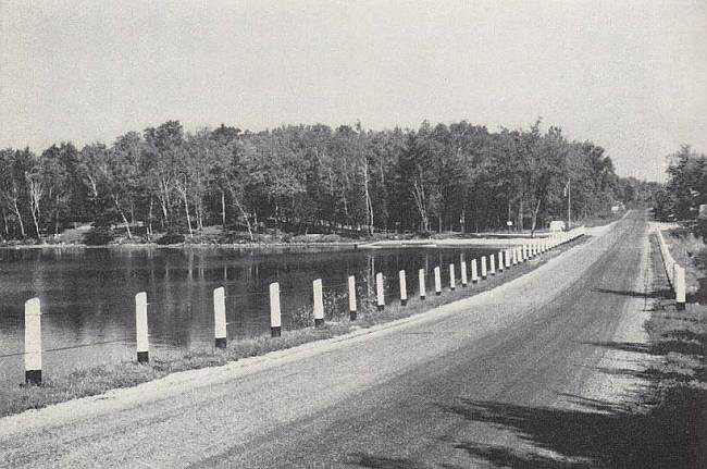 A stretch of Ontario Highway 7, circa the 1950s